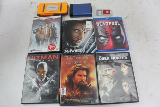 Movies, Power Banks, Flashlights, & More; 7+ Pieces