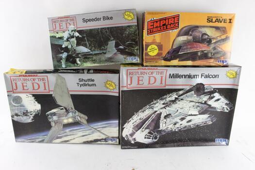 MPC Star Wars Model Kits, 5 Pieces