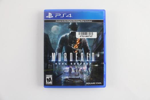Murdered Soul Suspect For Sony Playstation 4