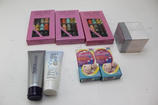 Nail Fritz Shimmer Nail Art, Dream Walk Foot Smoother, A New Platinum Cleaser: 5+ Items