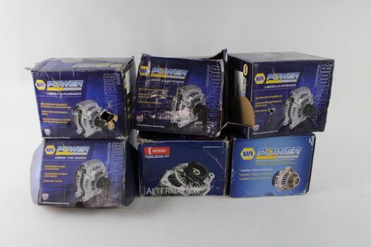 Napa / Denso,  Remanufactured Alternators, 5+ Pieces