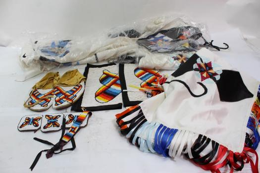 Native American Outfit Unknown Brand, 8 Pieces