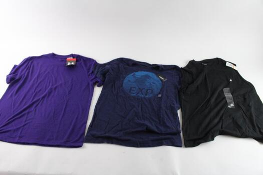 Nautica And Other T-Shirts, Small, 3 Pieces