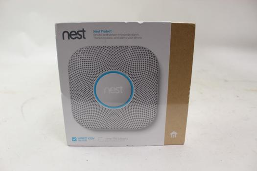 Nest Protect (2nd Generation) Wired Smoke And Carbon Monoxide Alarm