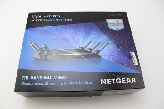 Netgear Nighthawk X6s Tri-band Wifi Router