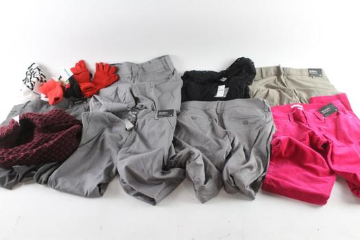 New York & Co And Other Clothing, 0, 4, 8, OS, L, L/XL, 12 Pieces