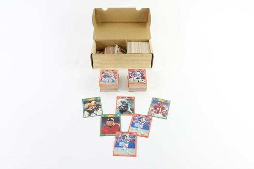 NFL Pro Set Football Trading Cards, 50+ Pieces
