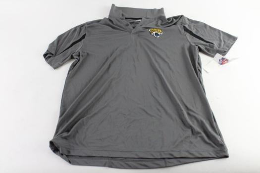 NFL Team Apparel Jacksonville Jaguars Polo Shirt, Size XL