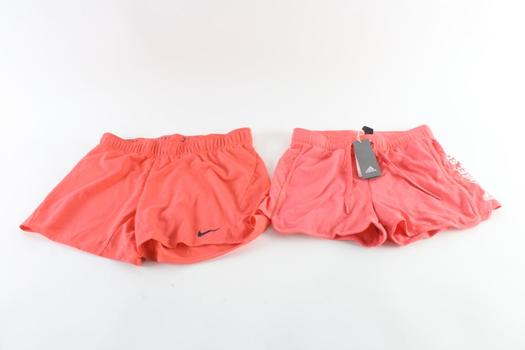 Nike And Adidas Shorts, M And S, 2 Pieces