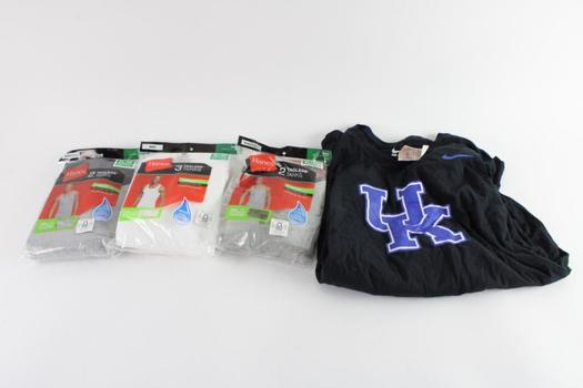 Nike And Other Clothing, XL, 4 Pieces