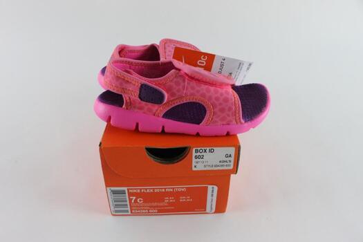 Nike Flex 2016 RN Toddler Sandals, Size 7C