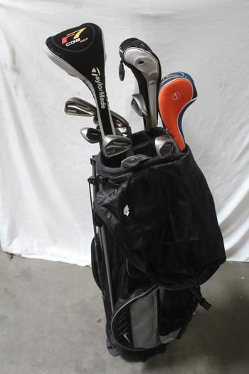 Nike Golf Bag With Clubs, 12 Pieces