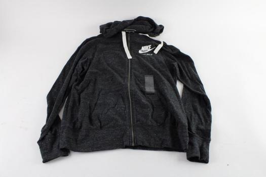 Nike Hooded Sweatshirt, Size Large