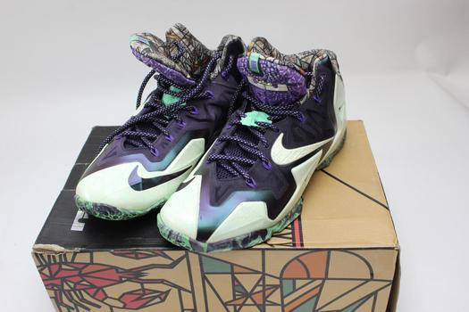 Nike Lebron Xi- As Mens Shoes, Size 10.5, Style Number 647780-735