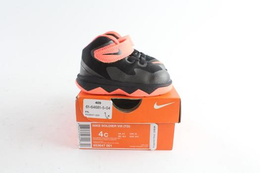 Nike LeBron Zoom Soldier VIII Toddler Shoes, Size 4C