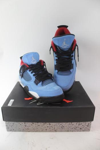 Nike Mens Air Jordan 4 Retro Travis Scott Shoes; Size 10