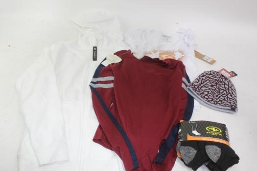 Nike Mens Jacket, Womens Tops, & More; 5 Pieces
