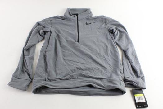 Nike Quarter-Zip Dry-Fit Shirt, Size S