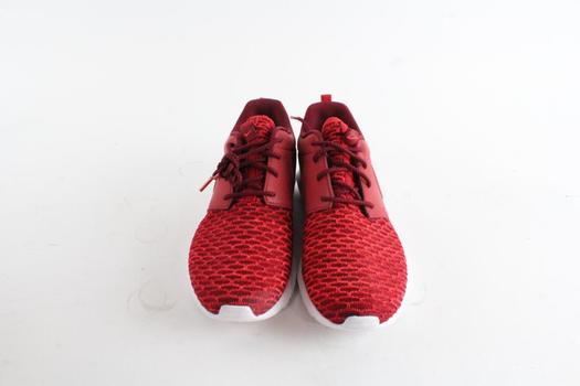 8 ShoesRed Size NM Roshe WhiteMens Nike Flyknit 5 SE Ygf7by6