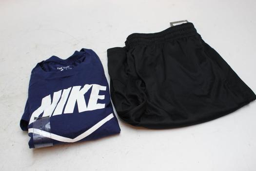 Nike Shorts And Shirt, Size L, 2 Pieces