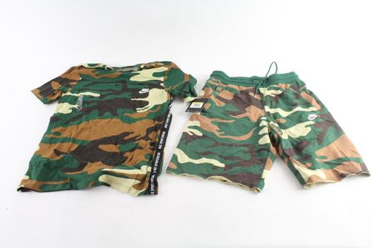 Nike Shorts And T-Shirt, S, 2 Pieces
