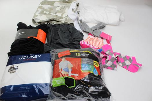 Nike, South Pole, Hanes+ More Clothing Lot, 9 Pieces