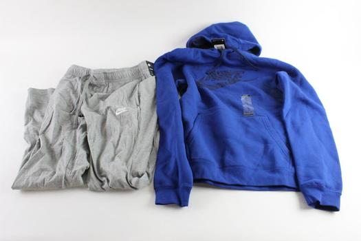 Nike Sweatshirt And Sweatpants, Size M, 2 Pieces