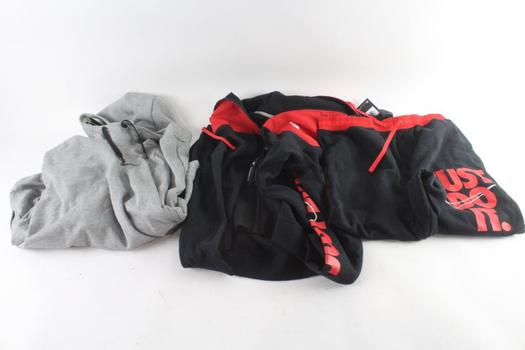 Nike Sweatshirts And Sweatpants, L And XL, 3 Pieces