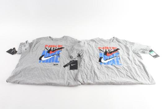 Nike T-Shirts, Size XL, 2 Pieces