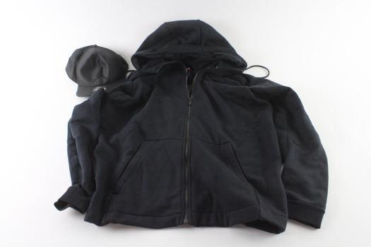 Nike Zip Up Hoodie Size XL And Nike Baseball Cap One Size, 2 Pieces