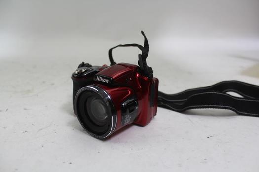 Nikon Coolpix L830 Digital Camera And Hard Shell Case