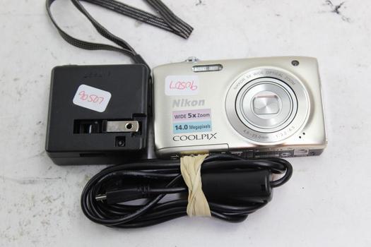 Nikon Coolpix S3100 Camera