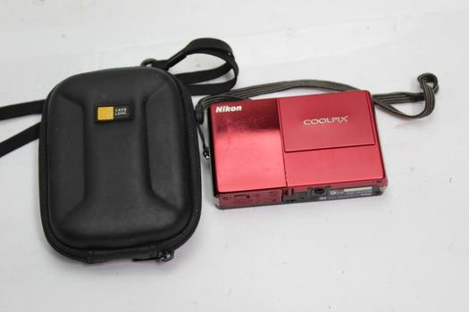 Nikon Coolpix S70 Digital Camera With Case