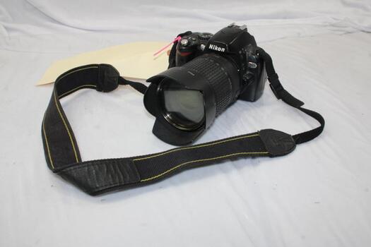 Nikon D40X DSLR Camera With Nikon Lens