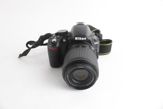 Nikon Digital Camera, Sold For Parts