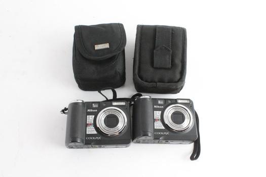 Nikon Digital Cameras, 2 Pieces
