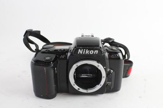 Nikon N6006 35mm SLR Camera