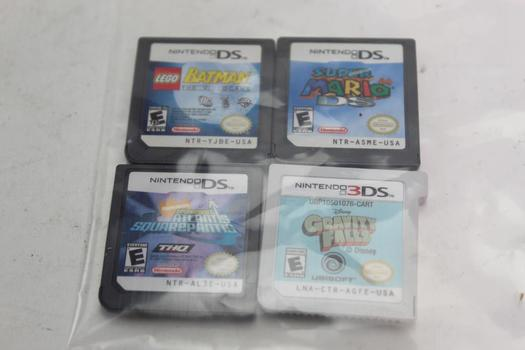 Nintendo Ds Games, 4 Pieces