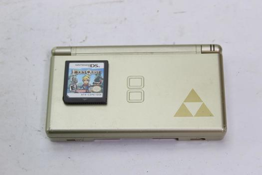 Nintendo Ds Lite With Locks Quest Game