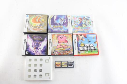 Nintendo DS Video Games 10 Pieces