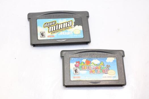 Nintendo Game Boy Games X 2