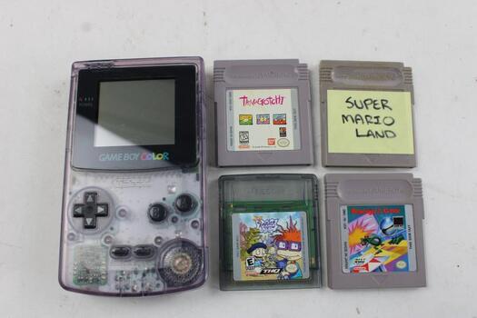 Nintendo GameBoy Color Portable Gaming Console