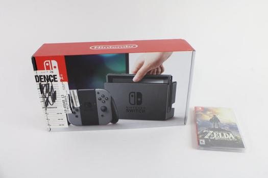Nintendo Switch With Game