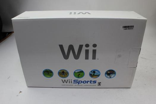 Nintendo Wii Gaming Console Sports Edition