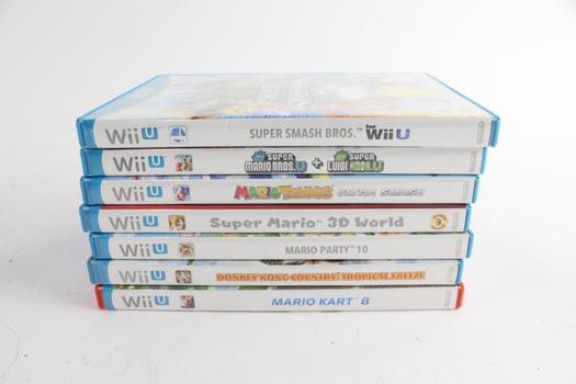 Nintendo Wii U Games, 7 PIeces