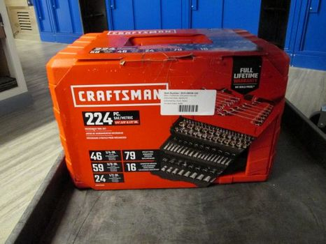 **No Shipping** Craftsman 224 Piece Tool Set (Great Falls, MT 59401)