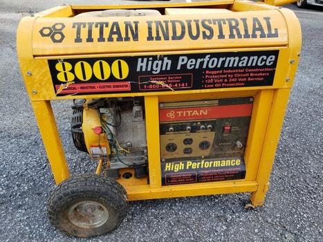 **No Shipping** Titan Industrial Generator (Marietta, GA 30060)