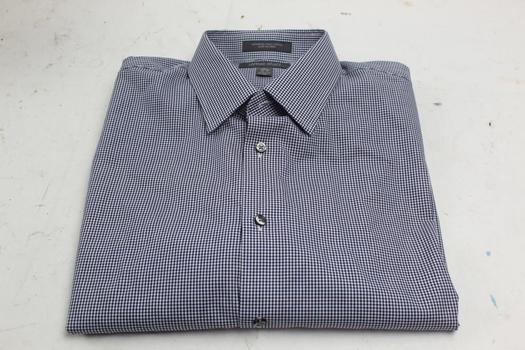 Nordstrom Rack Tradition Fit Long Sleeve Dress Shirt. Size 16 1/2,  36-37