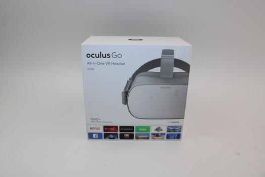 Oculus Go All-In-One VR Headset, 32GB - Oculus Account Locked, Sold For Parts