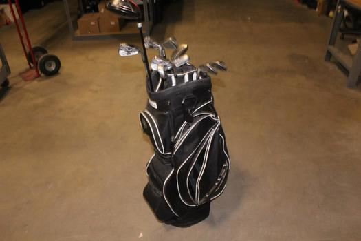 Ogio Bag With Clubs, 11 Pieces